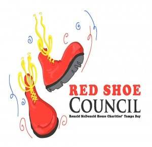 Ronald McDonald House Red Shoe Council Logo