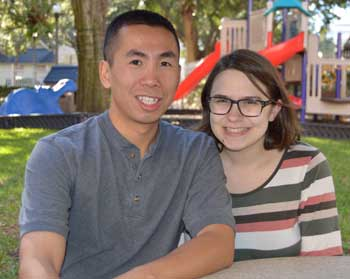 Kelsey and Tuan Ngo