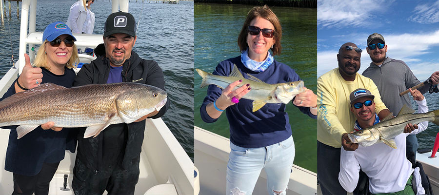 Anglers catch fish!